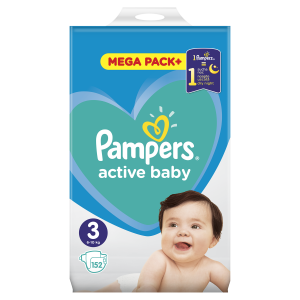 PAMPERS AB MB 3 MIDI (152) 8001090951533