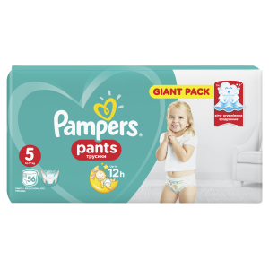 PAMPERS PANTS GP 5 JUNIOR (56)