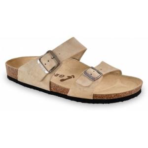 GRUBIN muške papuče 874010-EDITH, Bež 40