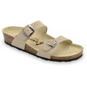 GRUBIN ženske papuče 0873550 EDITH Bež