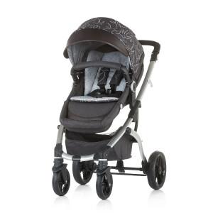 Chipolino Kolica za bebe Fama grey 710070