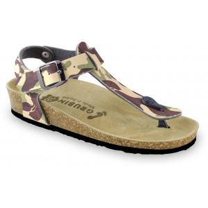 GRUBIN ženske papuče 0953640 TOBAGO Šarene1