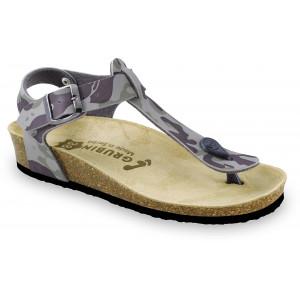 GRUBIN ženske papuče 0953640 TOBAGO Šarene2