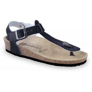 GRUBIN ženske sandale japanke 0953690 TOBAGO Crna