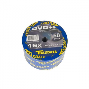 TRAXDATA DVD disk DVD+R 16X SP50