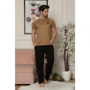 Pidžama muska 6190-2 tamno bez M*2
