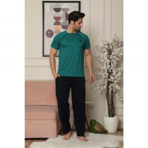 Pidžama muska 6190-4 zelena XL***K