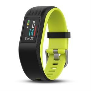 GARMIN GPS fitnes narukvica vivosport Crno Zelena velika