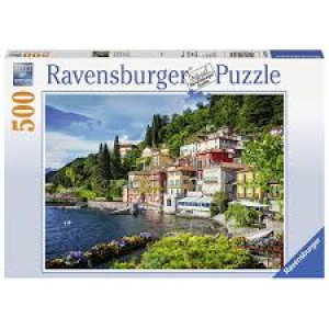 RAVENSBURGER puzzle (slagalice) - jezero Como RA14756