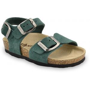 GRUBIN dečije sandale 1173050 ROBY Zelene