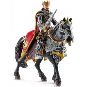 SCHLEICH kralj zmajevih vitezova na konju 70115