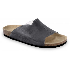 GRUBIN muške papuče 1424010 LORENZO Crne 40