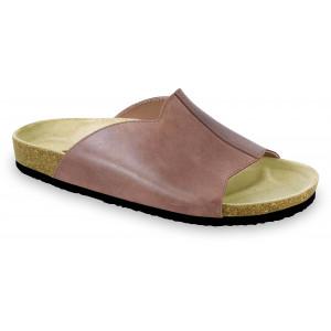 GRUBIN muške papuče 1424010 LORENZO Braon 40