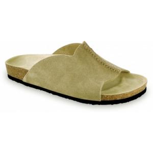 GRUBIN muške papuče 1424050 LORENZO Bež 40