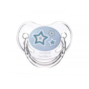 "CANPOL BABY orthodintic silikonska laža 18+M 22/567_blu ""Newborn baby"" 1kom - STARS"