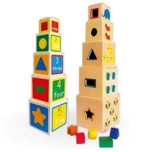 VIGA slagalice kocka u kocku oblik 6127