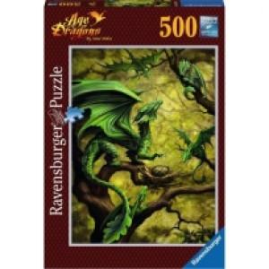 Ravensburger puzzle (slagalice) -  Zmaj RA14789