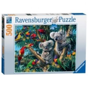Ravensburger puzzle (slagalice) - Koale na drvetu RA14826