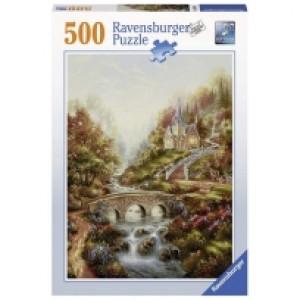 Ravensburger puzzle (slagalice)- Zlatni sat RA14986