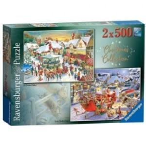 Ravensburger puzzle (slagalice) - Novogodisnaj carolija RA15031