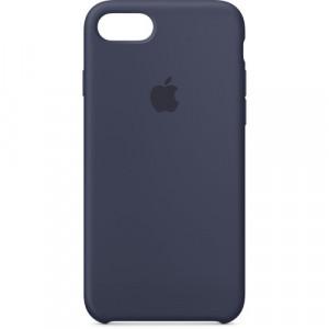 APPLE iPhone 8/7 Silicone Case - Midnight Blue MQGM2ZM/A