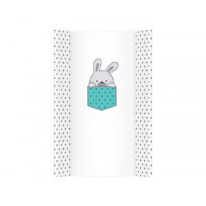 KLUPS Tvrda podloga za presvlačenje beba little bunnies blue PT70/340