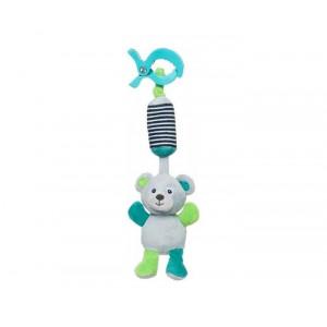 "CANPOL baby plišana igračka sa zvečkom ""bears""-grey 68/054_grey"
