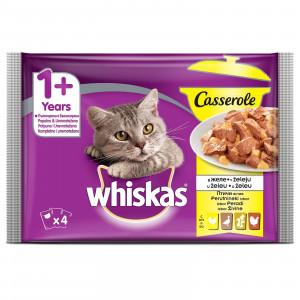 WHISKAS hrana za mačku Živina 4x85g 520249