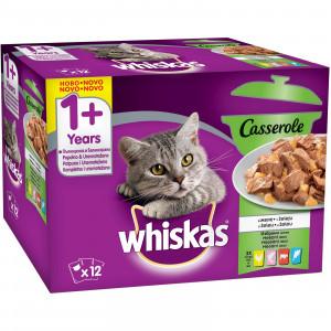 WHISKAS hrana za mačku, Mesani izbor 12x85g 520256