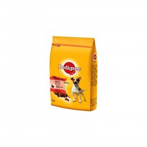 PEDIGREE hrana za pse, briketi, Adult Mini, govedina i povrce 400g 520145