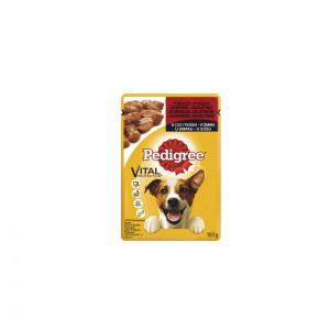 PEDIGREE hrana za pse, govedina i jagnjetina 100g 520232