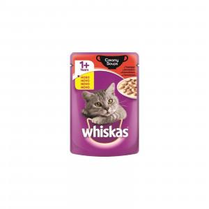 WHISKAS hrana za mačku kesica, Creamy Soups govedina 85g 520240