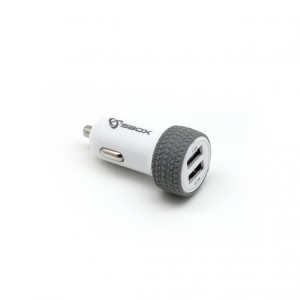 S BOX auto punjač CC - 31 (white) Car USB Charger