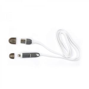 S BOX kabl USB A - Micro B + IPH.5  1,5m  W