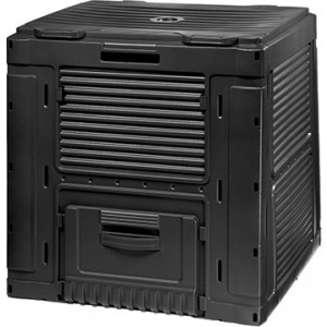 Komposter E-komposter 470L (sa bazom) crna CU 231415
