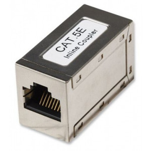 LAN Inline konektor Coupler Cat.5e FTP žensko ženski