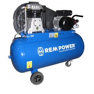 REM POWER elektro maschinen klipni kompresor E 305/10/100 230V