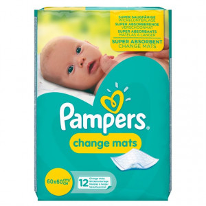 PAMPERS CHANGEMATS (12)
