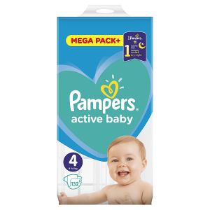 PAMPERS AB MB 4 MAXI (132) 8001090951618