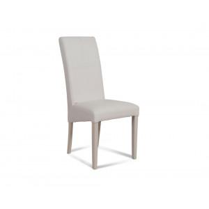 MATIS trpezarijska stolica CROS -BELA PR02519