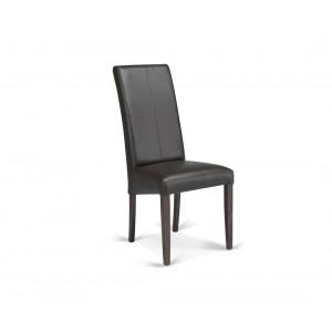 MATIS trpezarijska stolica CROS -WENGE-SMEDJA PR01956
