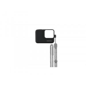 GOPRO silikonska zaštita kućišta i vezica (crna) ACSST-001
