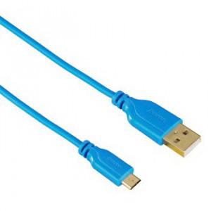 HAMA kabl Flexi-Slim Micro USB PLAVI 135701