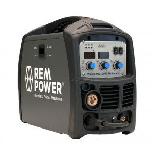 REM POWER elektro maschinen aparat za varenje WMEm MIG 200 Basic Line