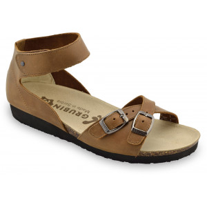 GRUBIN ženske sandale 2103610 NICOLE Braon