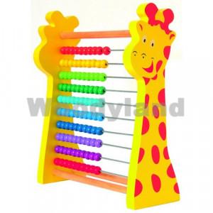 WOODY računaljka žirafa 90241