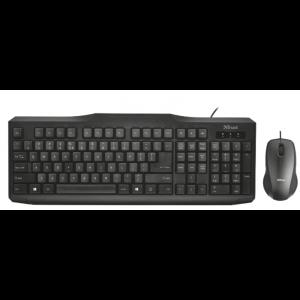 TRUST Classicline tastatura i miš crni