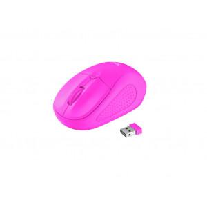 TRUST primo bežični miš pink - neon 21923
