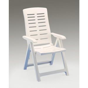 Baštenska stolica plastična Yuma bela 029089