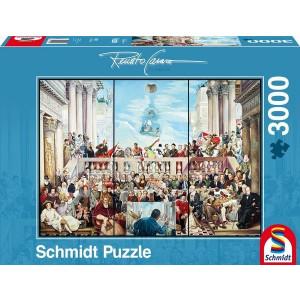 SCHMIDT puzzle 3000 kom. 14787